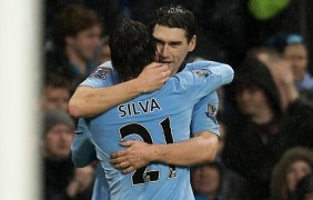 El City resucita con un gol de Gareth Barry en el 93' (0-1 ante el Reading)