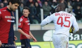 Balotelli mand a callar tras marcar