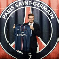 Beckhan debutar ya en PSG