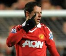 'Chicharito', base del Man Utd